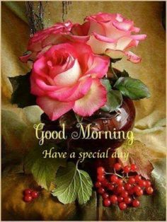 Special Good Morning Wishes Images Wallpaper Pictures Special Good Morning, Good Morning Roses, Good Morning Happy, Good Morning Photos, Morning Pictures, Morning Morning, Good Morning Beautiful Flowers, Good Morning Greeting Cards, Good Morning Messages