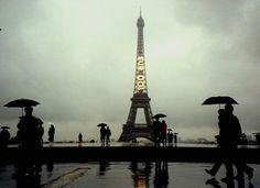Paris sous la pluie - © Ron Reiring / CC