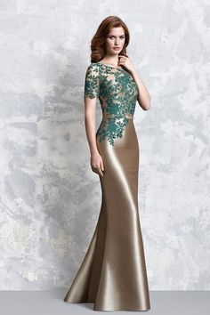 View the latest occasions dress collections from Pepe Botella as well as UK Stockist information Mother Of The Bride Dresses Long, Wedding Dresses For Girls, Mothers Dresses, Dressy Dresses, Elegant Dresses, Day Dresses, Evening Gowns With Sleeves, Mermaid Evening Dresses, Beautiful Dress Designs