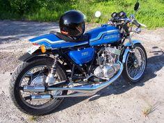 Baaaad Mamajama! Custom H2   2 Stroke Biker