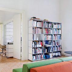 USMMöbelbausysteme werten Wohnraum ebenso auf wie Arbeitsraum - USM