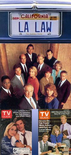 Monday, September 15, 1986: L.A. Law premieres on NBC.-------------1986-1994