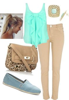 toms shoes #authentictomsshoessale Clothes Casual Outift for • teens • movies • girls • women •. summer • fall • spring • winter • outfit ideas • dates • school • parties mint cute sexy mini skirt leopard bag