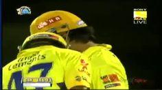 M.S Dhoni Madnificent Six to Vinay Kumar Vs RCB - DLF IPL 2012