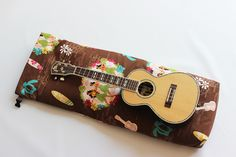 Hand made UKULELE BAG (Concert Size)  (made in Japan) $98,00