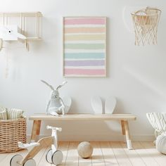 Boho Nursery, Rainbow Nursery Decor, Nursery Room Decor, Playroom Decor, Nursery Prints, Nursery Wall Art, Girl Nursery, Modern Playroom, Playroom Design