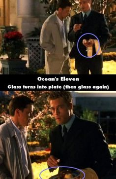 Movie Trivia Ocean S Eleven 2001 In 2019 Movies And Tv