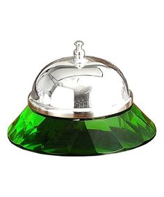 Look what I found on #zulily! Green Crystal Bell #zulilyfinds