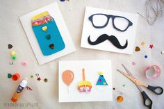 DIY: 3D Greeting Cards | Mother's Day, Father's Day, Birthdays + More