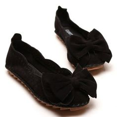 Bowknot and Suede Design Flat Shoes For Women Cheap Wholesale, Cheap Clothes, Online Shopping Stores, Black Flats, Flat Shoes, Fashion Dresses, Design, Women, Black Flats Shoes