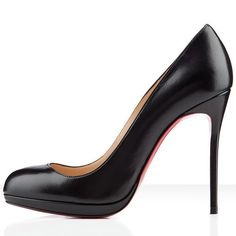 Christian Louboutin Filo Leather Pumps 120mm Leather Black PERFECT ❤️