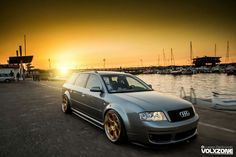 Audi RS6 C5 Avant with Rad48 wheels