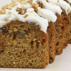 Carrot And Walnut Loaf Recipe