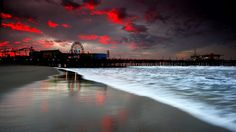 Beach At Night Picture Download Free.