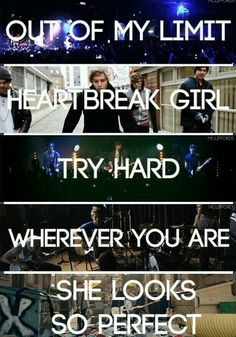 I've been here for all of these singles and I can't express how proud I am of them. They've come so far <3