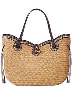 6f501014e9 Eric Javits Designer Women s  Watuti  Handbag (Natural Black Mix) ❤ .
