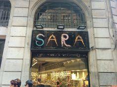 Sara in Barcelona