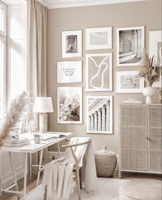 Beige Room, Beige Living Rooms, Living Room Decor, Beige Walls, Room Ideas Bedroom, Home Bedroom, Cream Bedroom Decor, Room Interior, Interior Design