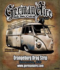 Germanaire Drag Day & Social 2015 November 14th, 2015 Neeses, South Carolina, U.S.A.