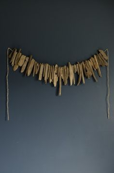 diy driftwood garland (Lemon Thistle)