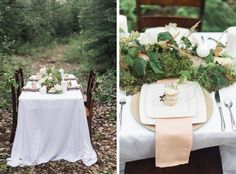 Forest Baby Shower - Woodlands Baby Shower - Styled photo shoot - Hannah Gaul Photography - Florals by Blossoms & Vine - Paper products by Cuts of Confetti