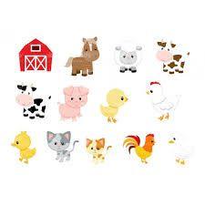 animais da fazendinha vetor - Pesquisa Google