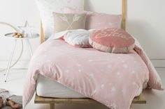 Stargazer Pink Duvet Cover Set by Squiggles | Harvey Norman New Zealand