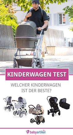 Kinderwagen Test 2017 der Stiftung Warentest – Die Ergebnisse The pram test 2017 of Stiftung Warentest shows bad results. Only 2 out of 12 prams tested convinced the testers. Baby Must Haves, Pregnancy Test, Baby Health, Prams, Mom And Baby, Baby Baby, Maternity Fashion, Summer Maternity, Maternity Photos