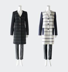 BORDERS at BALCONY #COAT JACKET B-1 #2013AW #bordersatbalcony #border #jacket Balcony, Fur Coat, Winter Jackets, Collection, Fashion, Terrace, Moda, Winter Vest Outfits, La Mode