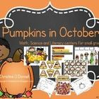 Here are 155 pages of learning fun with Pumpkins! Perfect for your Pre-K, K and 1st classrooms! This pack has everything you need to make your pump...