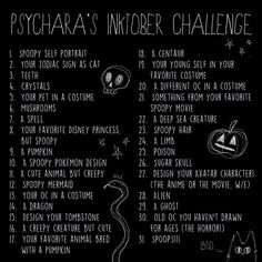 drawing prompts ideas drawing challenge list art journaling for 2019 Sketchbook Challenge, 30 Day Drawing Challenge, Art Sketchbook, Oc Challenge, Art Journal Prompts, Art Journals, Inktober, Drawing Ideas List, Drawing Prompt