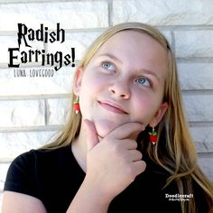 Harry Potter Cosplay: Luna Lovegood Radish Earrings!