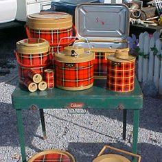 Vintage trailer supplies