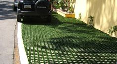 Permeable Pavers From Soil Retention - Drivable Grass® Project Gallery Showing…