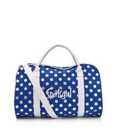 Metallic Spot Blue Duffle Bag. 9cd21759ae6d8