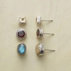 HIGHLIGHTS EARRING TRIO: View 1