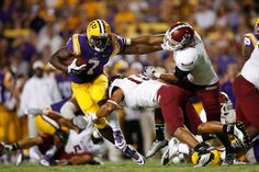 Leonard Fournette is starting to live up to the hype for LSU.