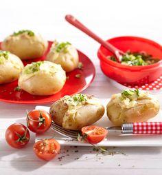 Kartoffelpäckchen  #hochland #käse #rezept #recipe #cheese #kartoffeln #potatoes #ofenaufstrich #flammkuchen