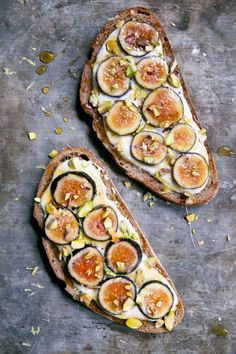 Fig Honey and Cottage Cheese Toast