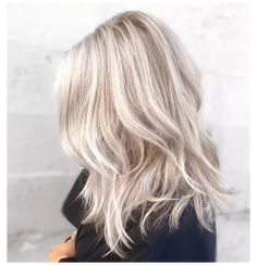 light cool blonde hair