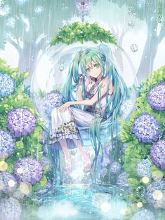 Find images and videos about vocaloid, miku and hatsune on We Heart It - the app to get lost in what you love. 5 Anime, Chica Anime Manga, Anime Angel, Anime Chibi, Manga Girl, Vocaloid, Kawaii Anime Girl, Anime Art Girl, Anime Girls