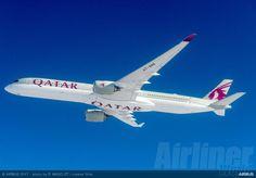 Qatar Airways Welcomes Maiden A350-1000 – Airliner World