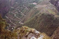 hiram bingham machu picchu | Hiram Bingham Highway, Machu Picchu