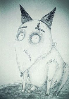 #sparky #timburton #drawing