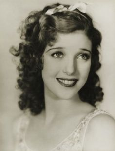 a very young and extremely beautiful Loretta Young
