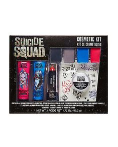 You have to look your best for the Joker! Find the Harley Quinn Makeup Kit - Suicide Squad at Spencer's. Harley Quinn Halloween, Harley Quinn Cosplay, Joker And Harley Quinn, Halloween Stuff, Halloween Makeup, Catwoman Cosplay, Halloween 2017, Harlequin Makeup, Harley Costume