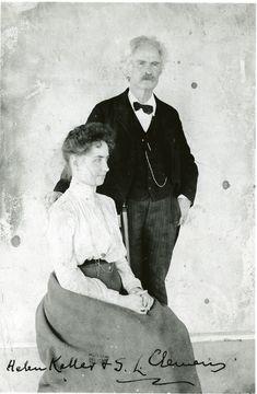Letter from Mark Twain to Helen Keller