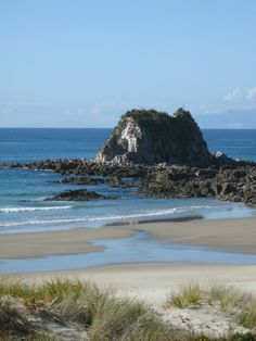 This is Mangawhai Heads in Northland, New Zealand.