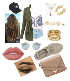 """""""Traveling"""" by malai-chue-1 on Polyvore featuring River Island, One Teaspoon, LE3NO, Christian Dior, adidas, LULUS, ABS by Allen Schwartz, Eddera, Lime Crime and Alexander Wang"""