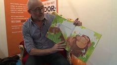 Guido van Genechten leest voor Van, Baseball Cards, School, Cover, Books, Authors, Libros, Animales, Book